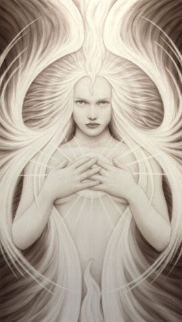Angel of Beauty (artwork by A. Andrew Gonzalez)