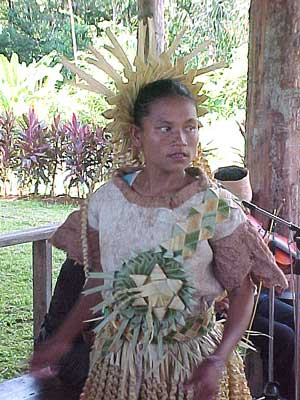 Mah Meri dancer from Carey Island (photo: Antares)