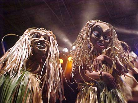 Mah Meri Topeng Dancers (photo: Antares)