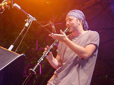 Sergey Klevensky on clarinet